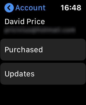 Cómo usar la App Store de Apple Watch: actualizaciones