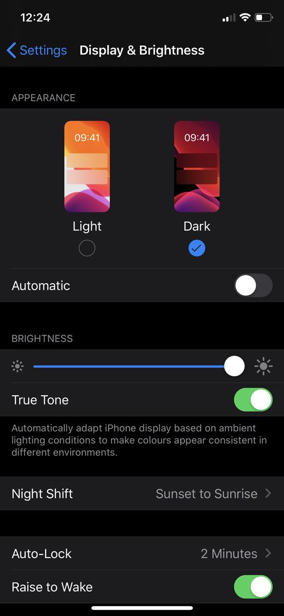 Cómo usar el modo oscuro en iPhone: configuración de pantalla y brillo