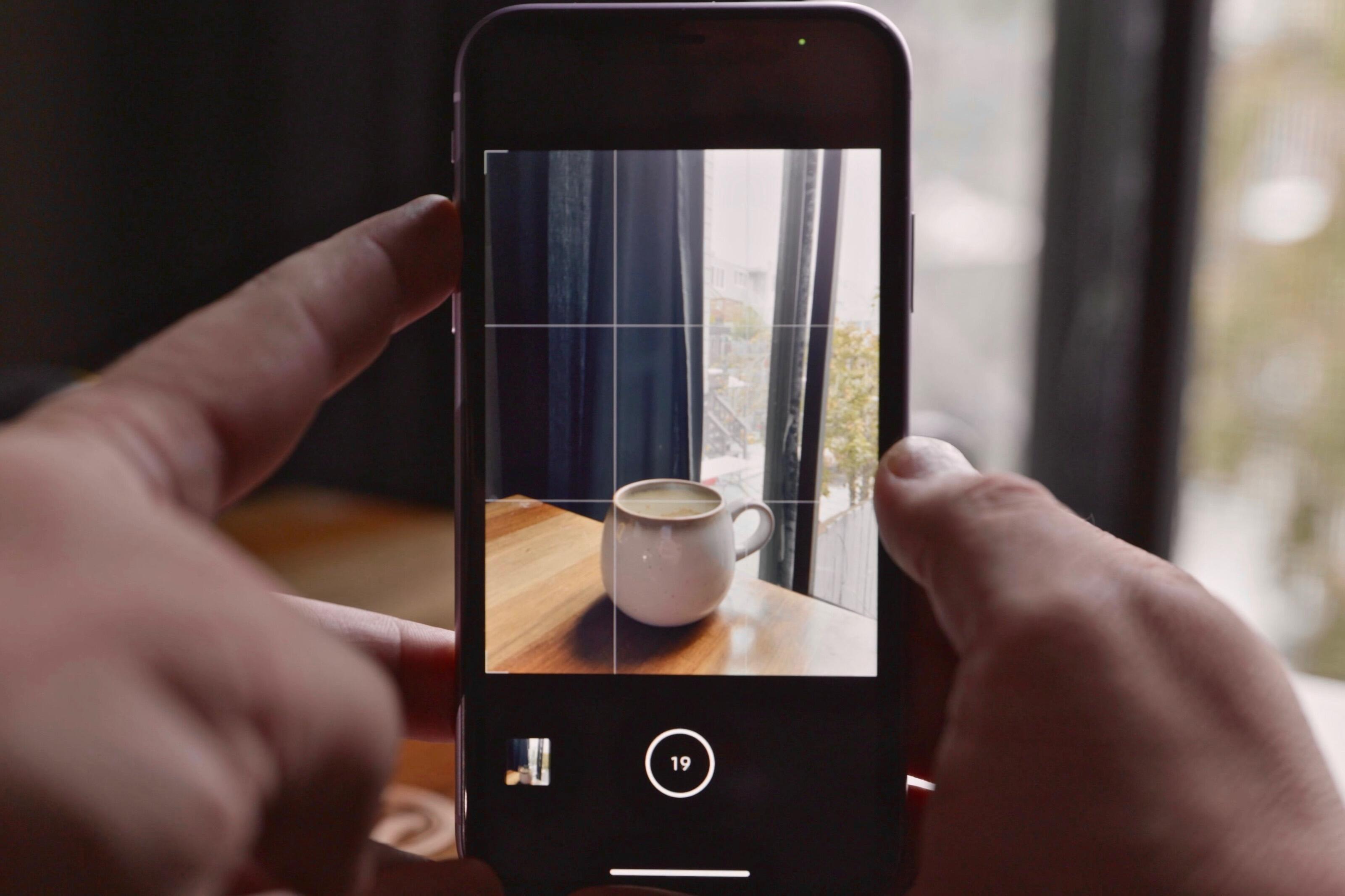 Botón de volumen de fotos de ráfaga de cámara iOS 14