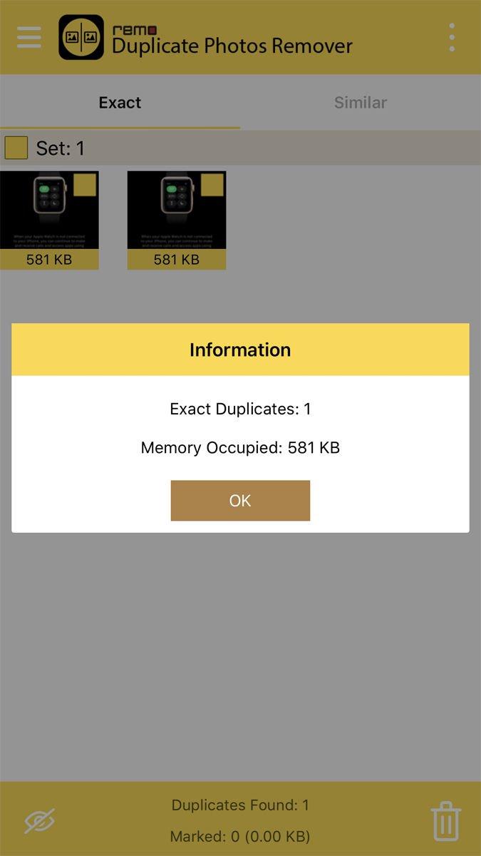 Cómo eliminar fotos duplicadas en iPhone: Remo Duplicate Photos Remover