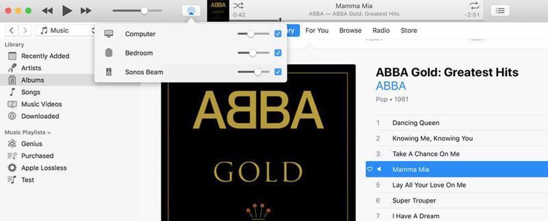 Cómo conectar un HomePod a un Sonos u otro altavoz inalámbrico: iTunes