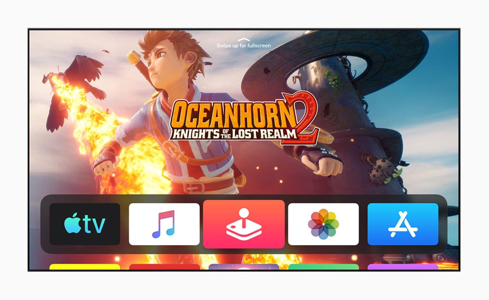 Cómo instalar tvOS 13 beta en Apple TV: Oceanhorn