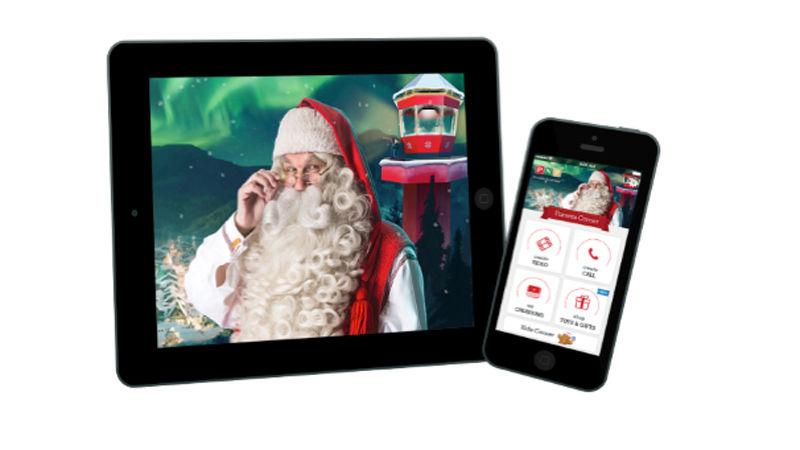 cómo hacer un video de navidad en iPhone