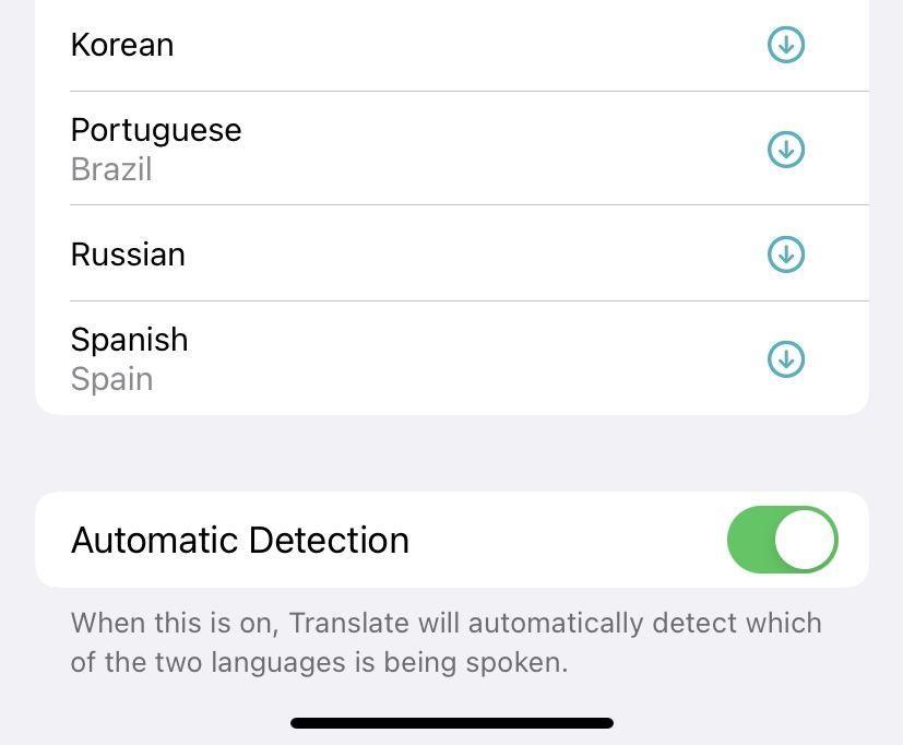 Detecta automáticamente el idioma