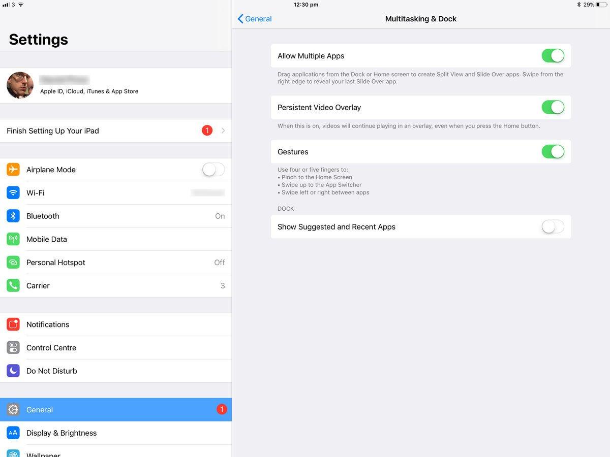 Cómo detener los iO en iPad agregando aplicaciones al dock: Paso 1