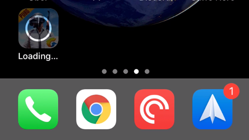 Cómo descargar aplicaciones de más de 200 MB en iPhone: Cargando