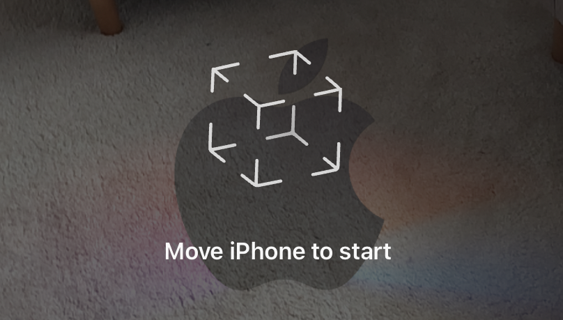 Evento de Apple con logotipo de AR