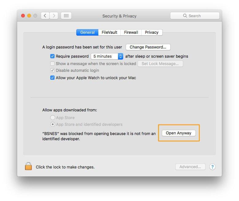 Cómo abrir una aplicación para Mac de un desarrollador no identificado: botón Abrir de todos modos