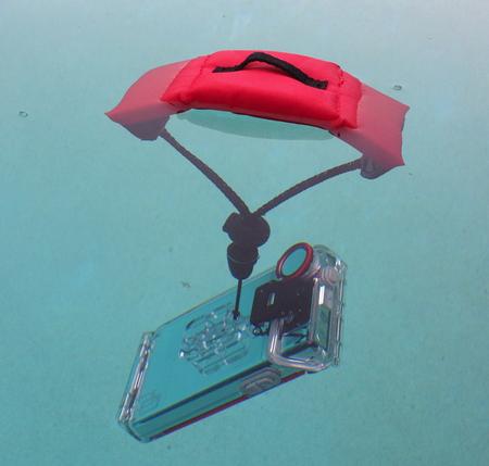 Cómo tomar fotos bajo el agua en iPhone: muñequera