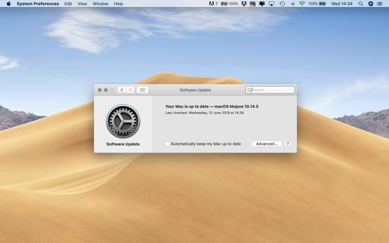 Actualiza el software