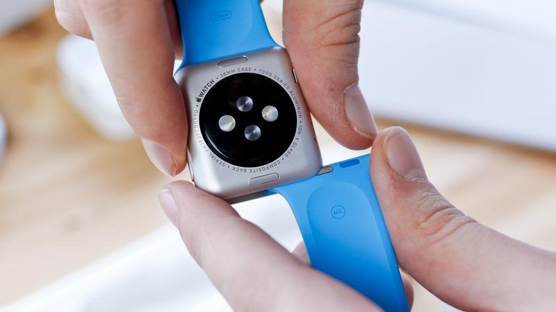 Cómo configurar un nuevo Apple Watch: Cómo cambiar la correa