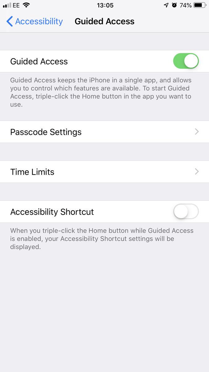 Cómo bloquear una aplicación de iPhone con una contraseña o Touch ID: acceso guiado