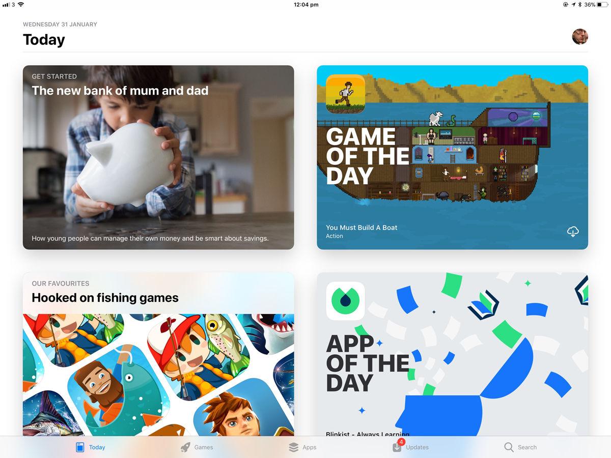Cómo usar un iPad: App Store