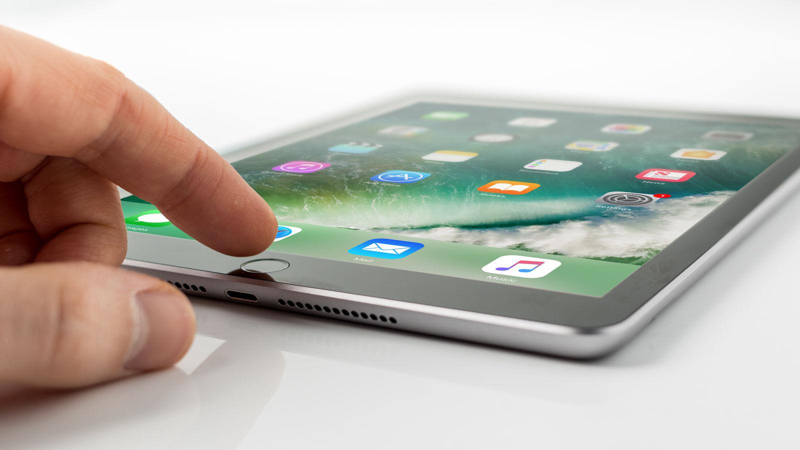 Cómo usar un iPad: botón de inicio