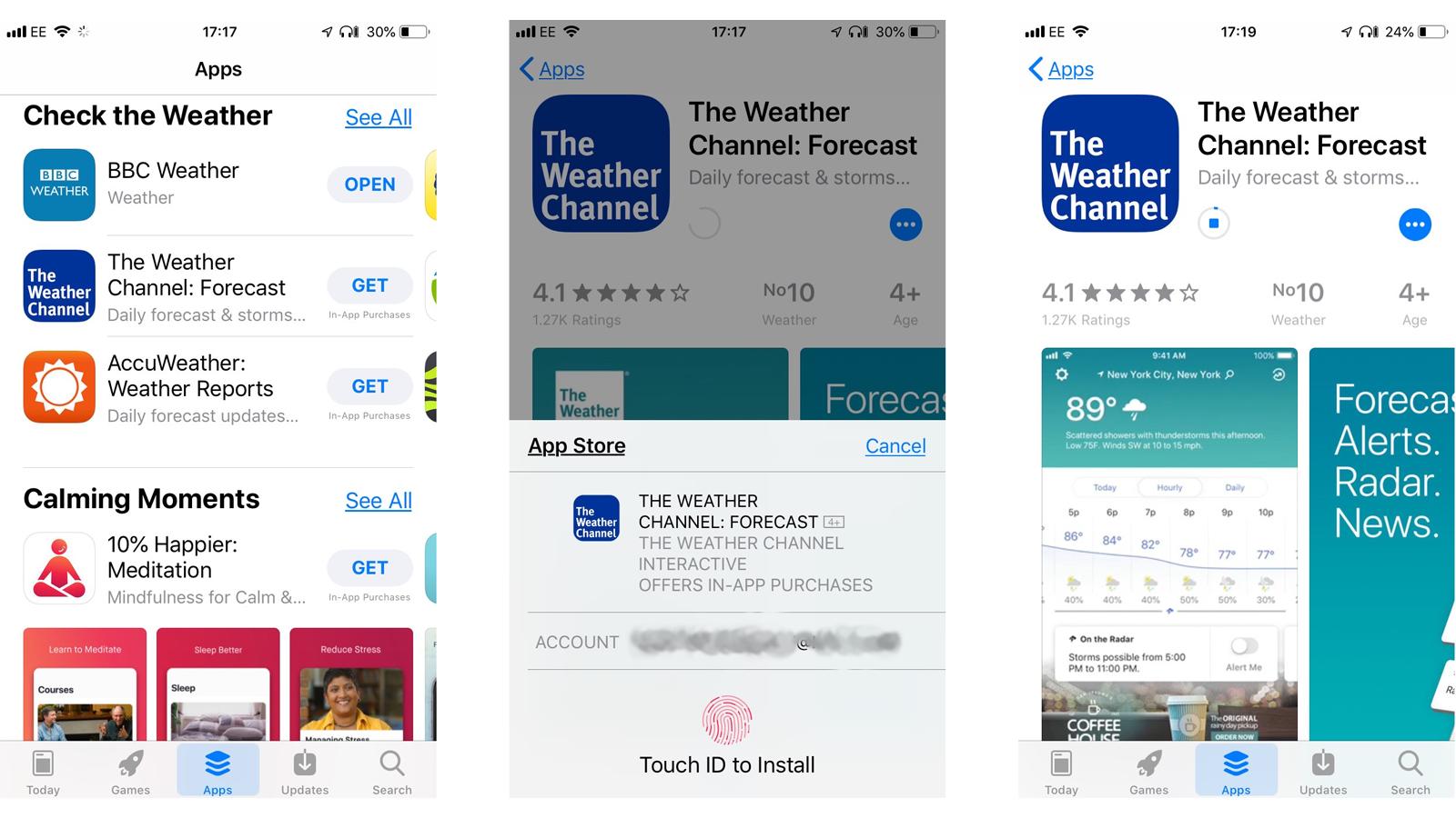 Cómo descargar aplicaciones en iPhone o iPad: la tienda