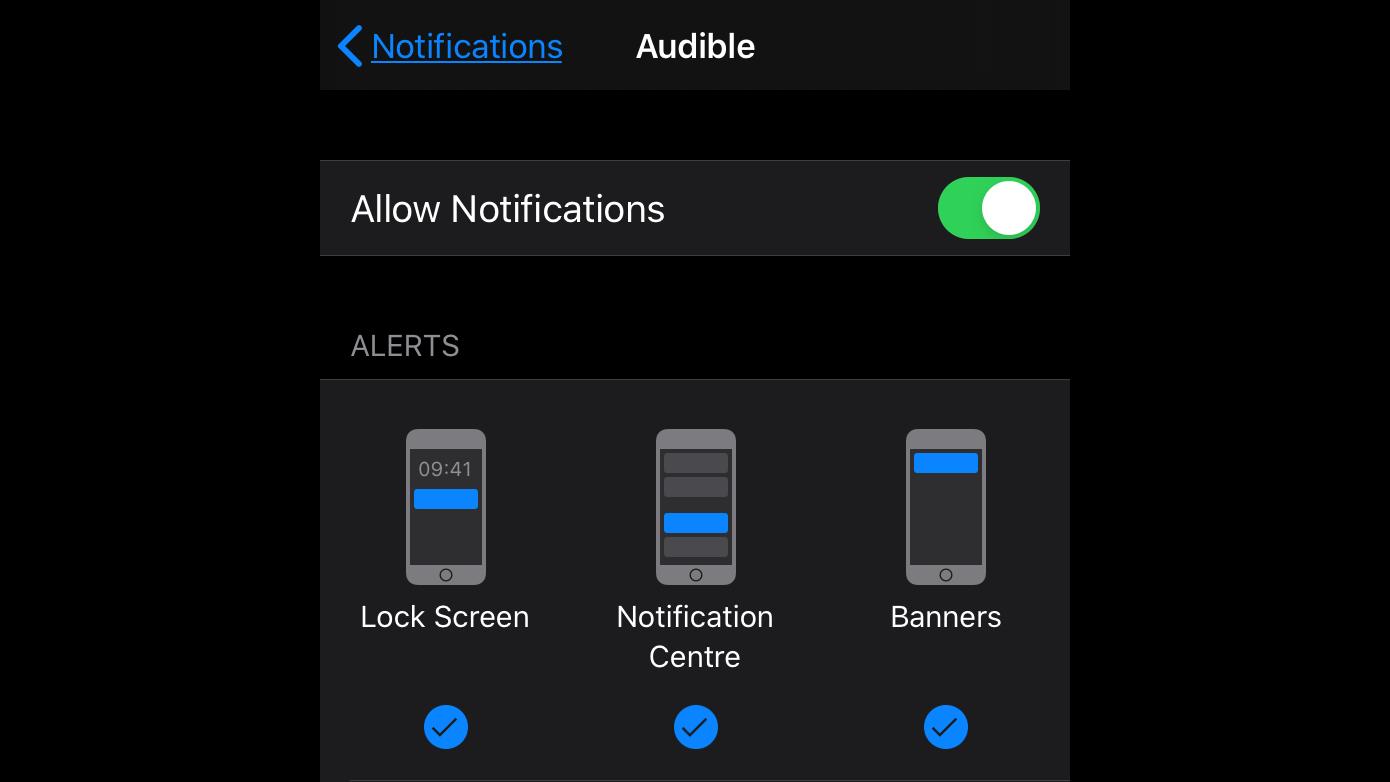 Cómo ver notificaciones en iPhone bloqueado: configuración de notificaciones de aplicaciones