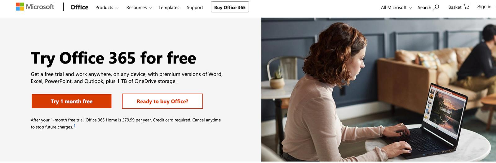 Cómo obtener Microsoft Word gratis en Mac: Office 365