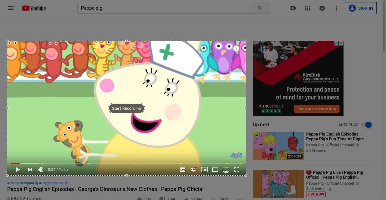 Cómo descargar videos de YouTube en una Mac: Grabar YouTube