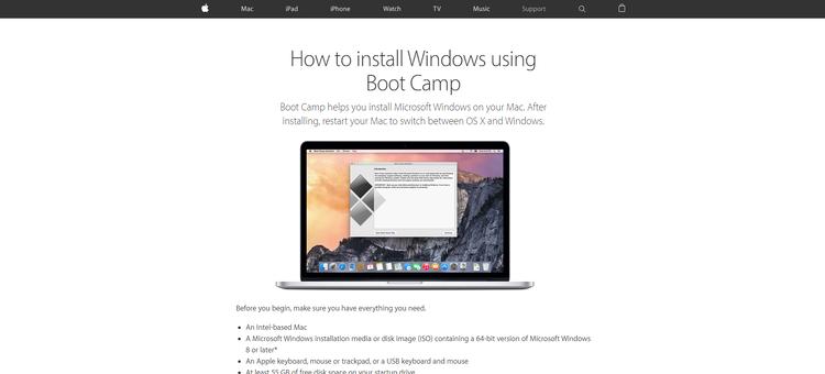 Cómo ejecutar juegos de PC en una Mac - Windows