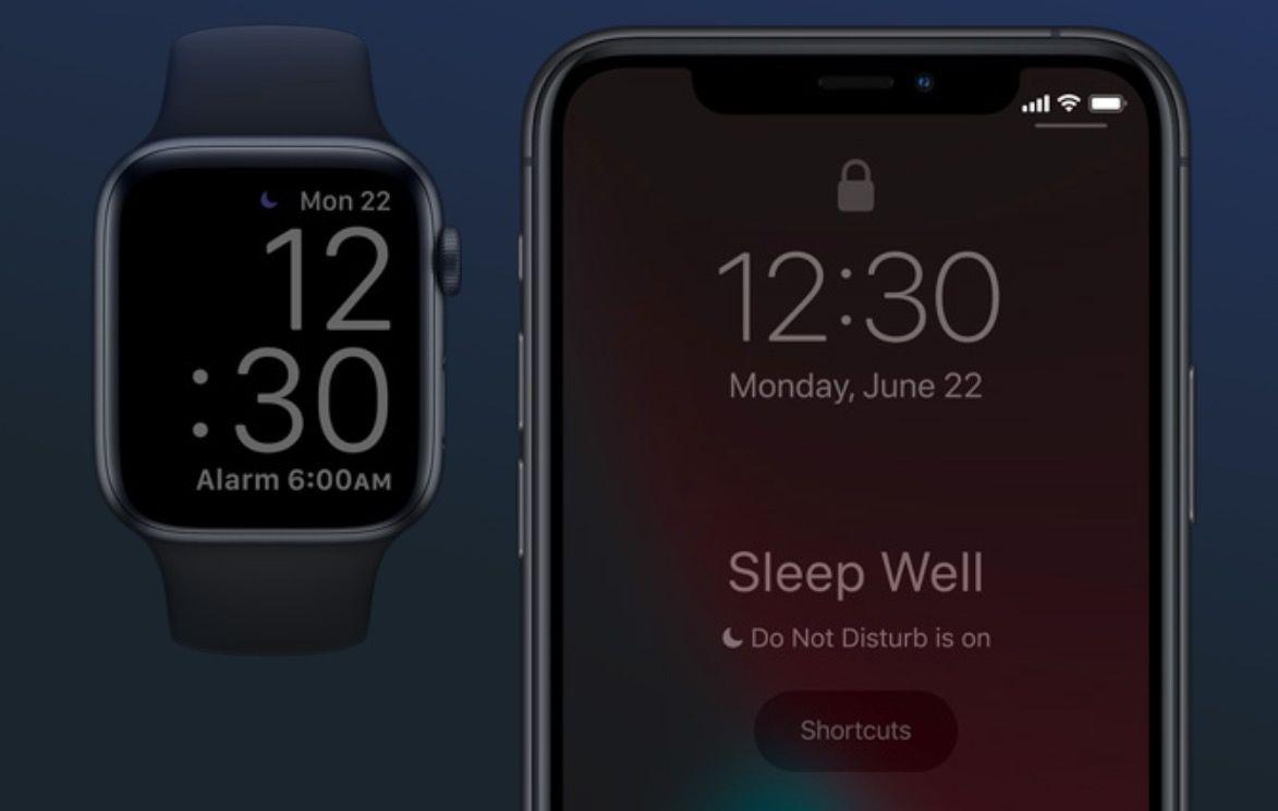 Hora de dormir del Apple Watch