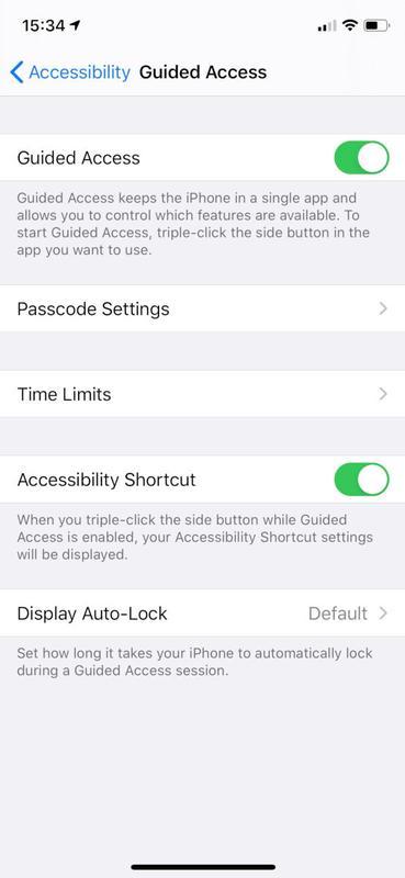 Cómo eliminar la barra de inicio en la parte inferior de la pantalla del iPhone: configuración de accesibilidad