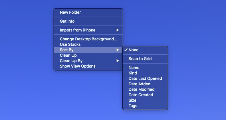 Cómo ordenar los iconos del escritorio