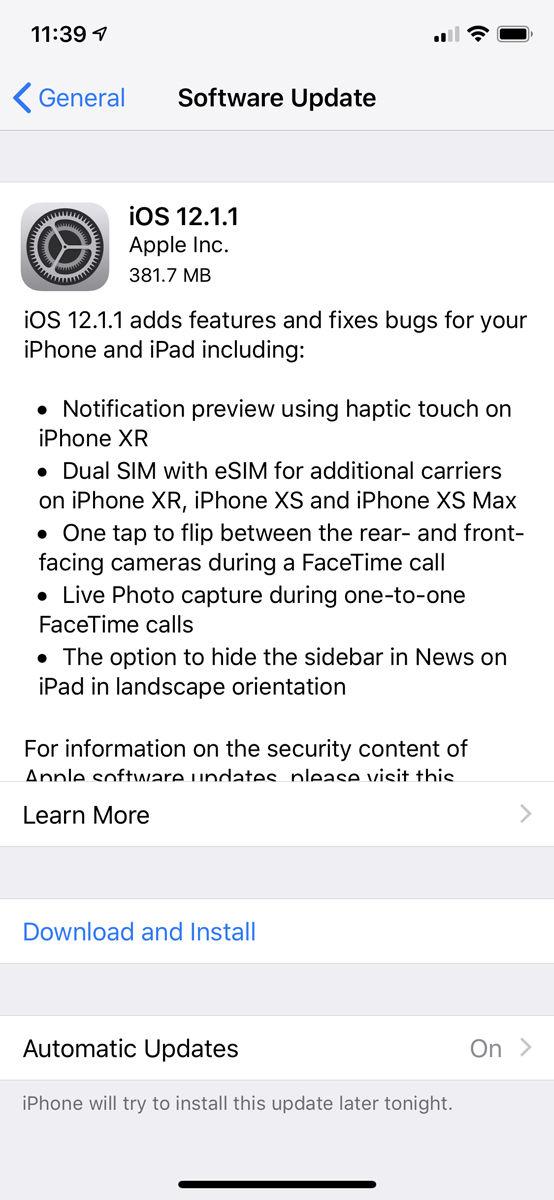 Cómo configurar iCloud: actualizar iOS