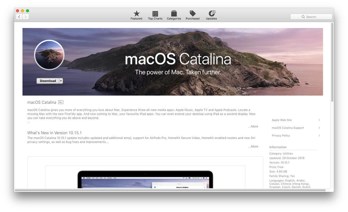 Cómo configurar iCloud en Mac: actualización a macOS Catalina