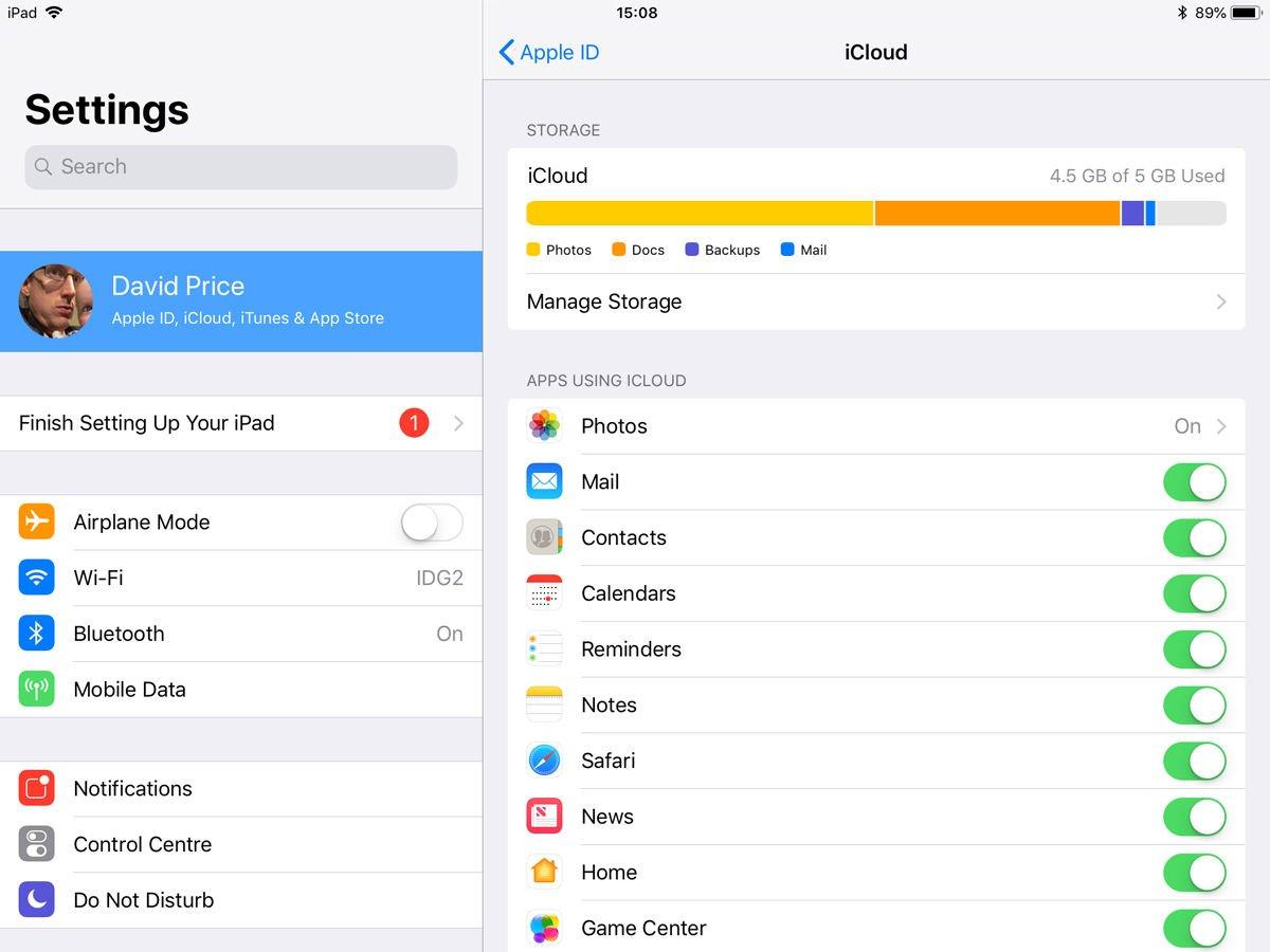 Cómo actualizar o cancelar la suscripción de almacenamiento de iCloud