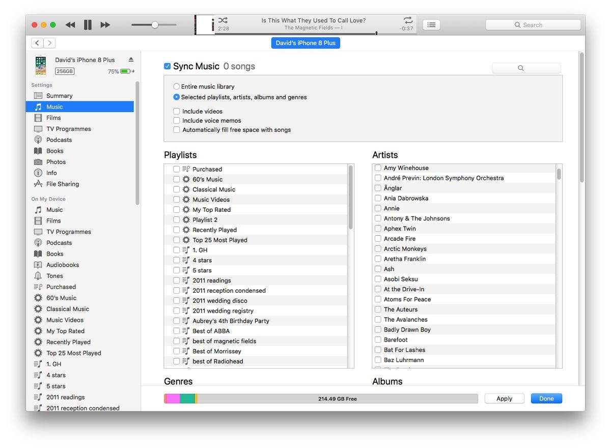 Cómo obtener música en un iPhone: sincronizar con iTunes a través de USB
