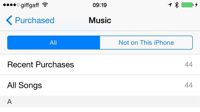 Cómo obtener música en un iPhone: vuelva a descargar la música comprada en iTunes Store