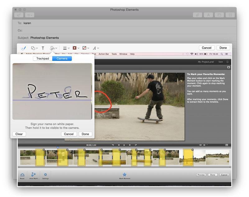 Cómo hacer una firma digital en Mac: Mail