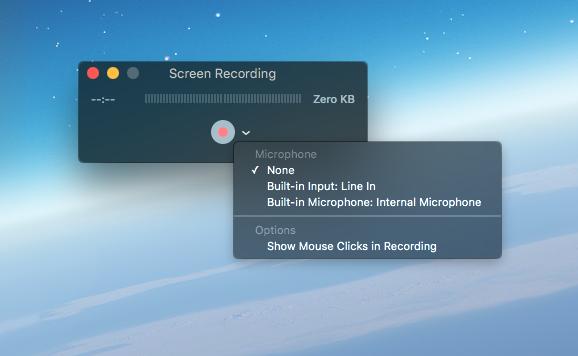 Grabar pantalla Quicktime