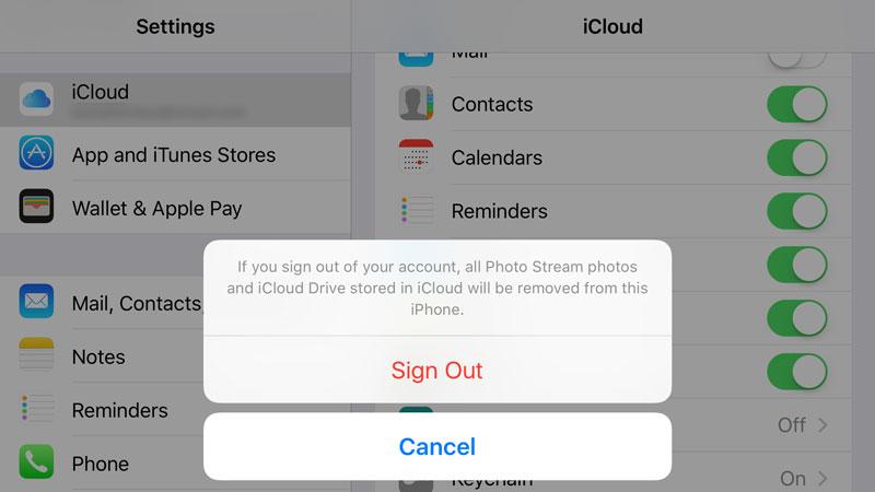 Cómo eliminar una ID de Apple de su iPhone: iCloud y Find My Friends