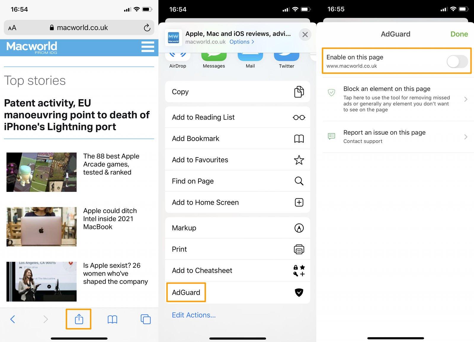Cómo bloquear anuncios en iPhone y iPad: listas blancas