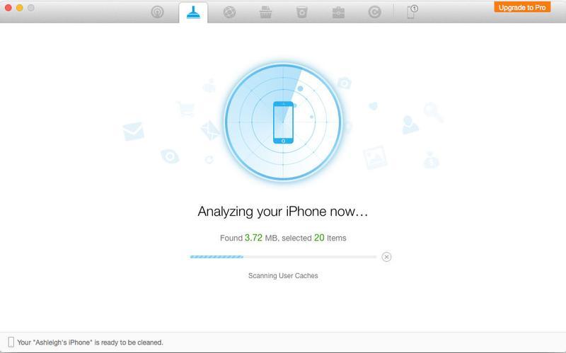 Cómo borrar el caché en iPhone y iPad: PhoneClean de iMobie