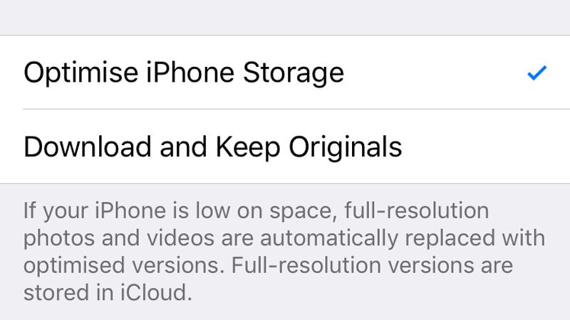 Cómo desactivar las fotos de iCloud sin eliminar nada: quedarse sin almacenamiento