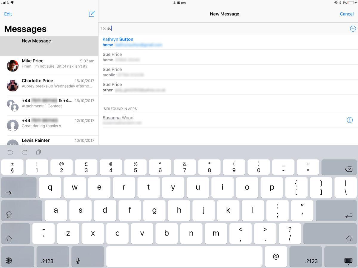 Cómo enviar un mensaje de texto desde un iPad: iMessage