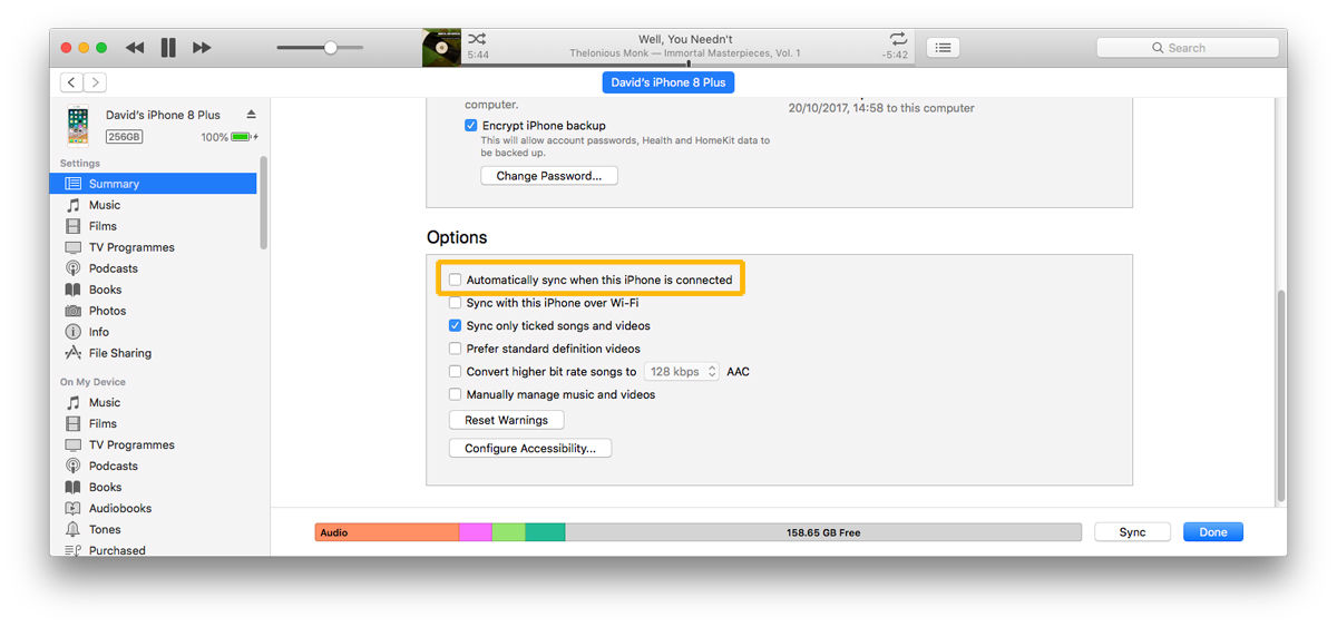 Cómo detener la apertura de iTunes cuando conectas un iPhone