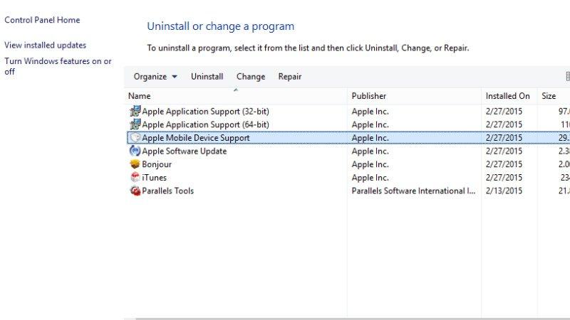 Qué hacer cuando iTunes no puede ver o reconocer un iPhone o iPad: Soporte de dispositivos móviles de Apple