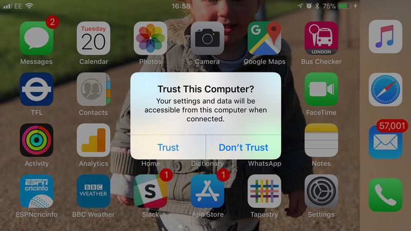 Qué hacer cuando iTunes no puede ver o reconocer un iPhone o iPad: