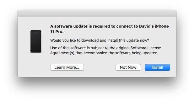 Qué hacer cuando iTunes no puede ver o reconocer un iPhone / iPad: actualización de macOS