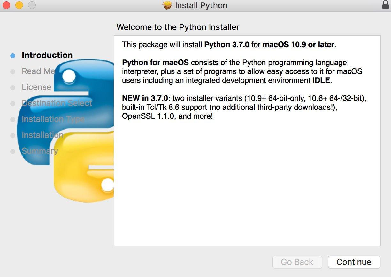 Cómo usar la codificación Python en Mac: Instalador
