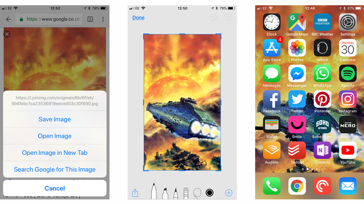 Cómo hacer fondos de pantalla para iPhone y iPad: Fotos