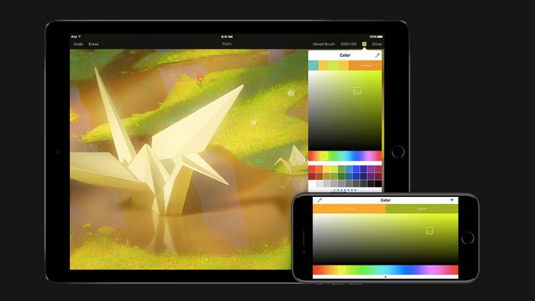 Cómo hacer fondos de pantalla para iPhone y iPad: Pixelmator