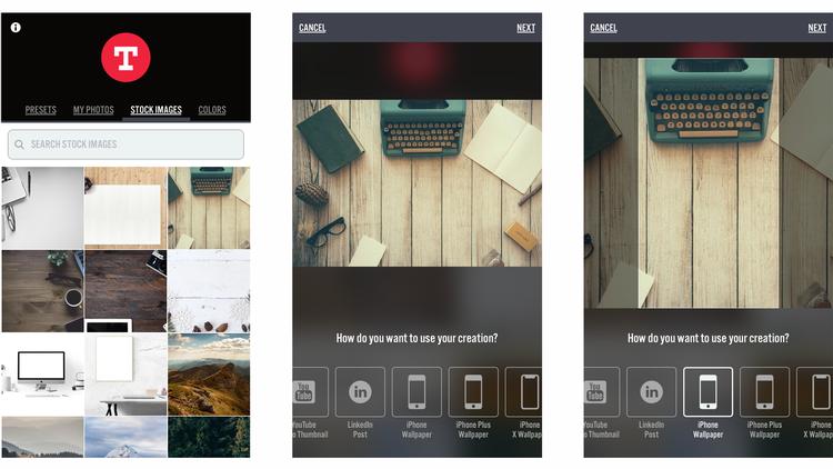 Cómo hacer fondos de pantalla para iPhone y iPad: Typorama