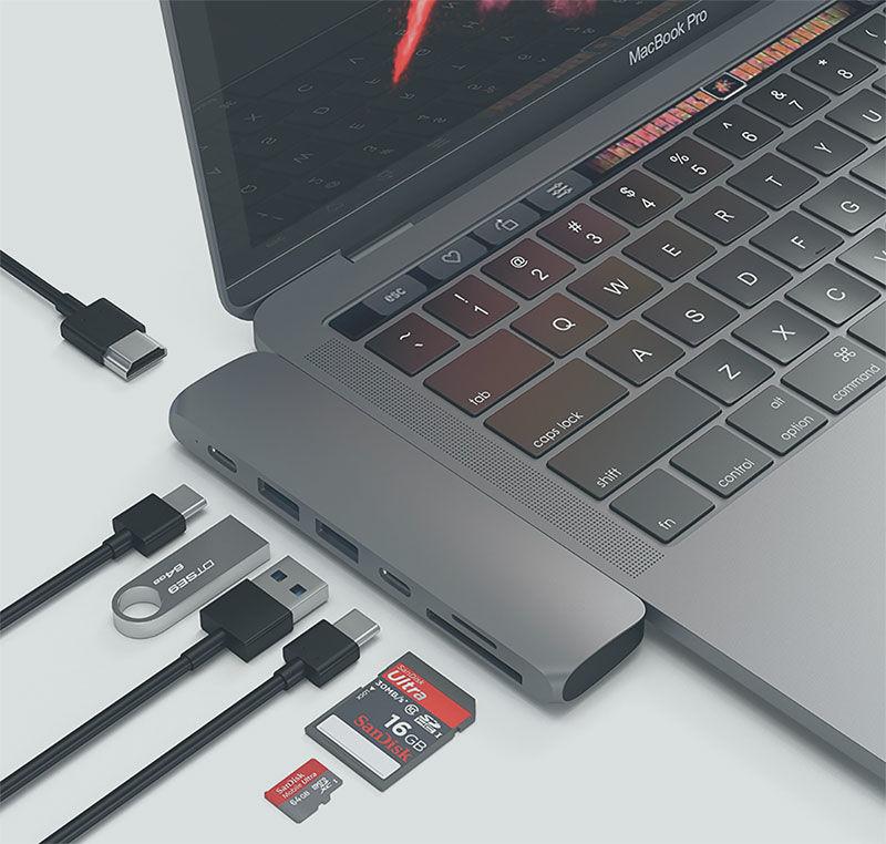 Adaptador de concentrador USB Satechi Tipo C