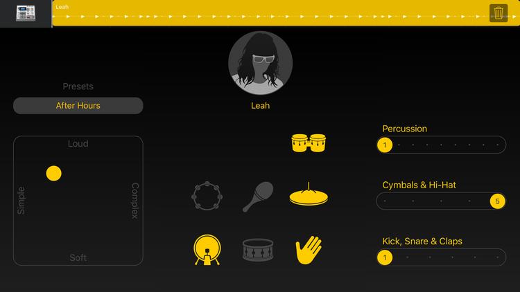 Cómo usar GarageBand en iPhone y iPad: Drummer