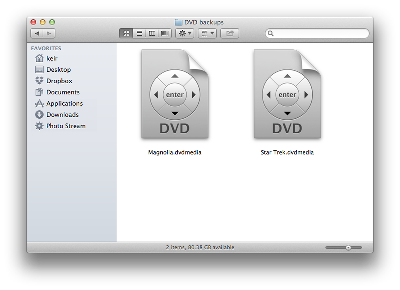 Cómo copiar un DVD o Blu-ray Disc a Mac