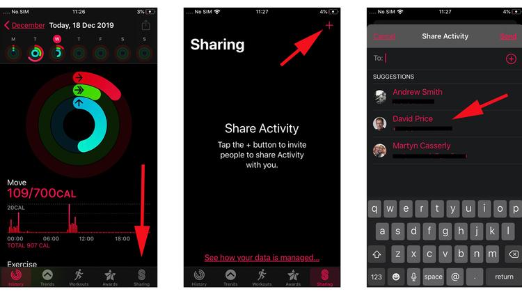 Cómo su iPhone y Apple Watch pueden ayudarlo a ponerse en forma para el nuevo año: Actividad compartida